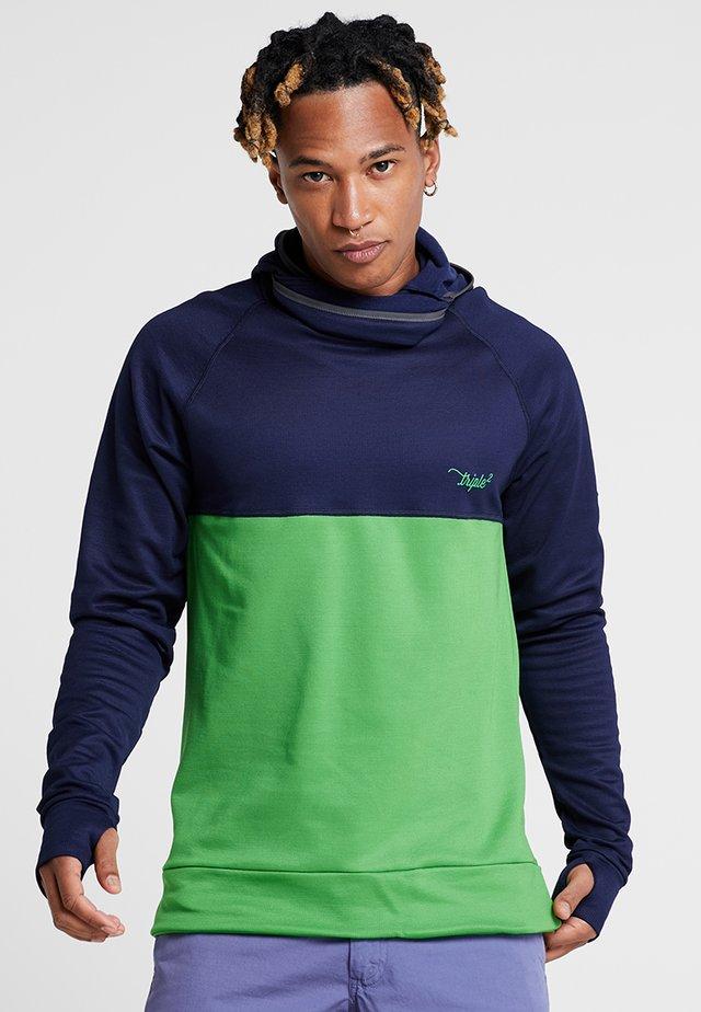 KAPP HOODIE MEN - Sports shirt - online/lime