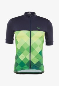 Triple2 - VELOZIP PERFORMANCE MEN - T-Shirt print - online lime - 4