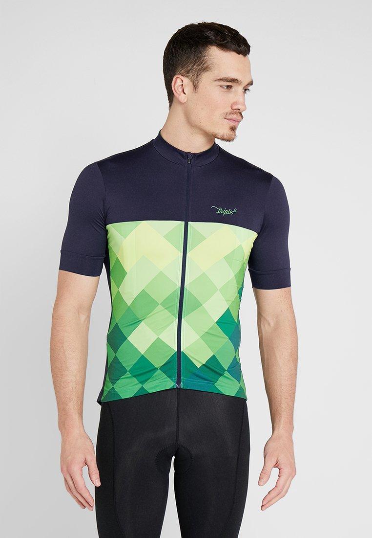 Triple2 - VELOZIP PERFORMANCE MEN - T-Shirt print - online lime