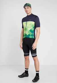 Triple2 - VELOZIP PERFORMANCE MEN - T-Shirt print - online lime