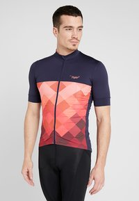Triple2 - VELOZIP PERFORMANCE MEN - T-Shirt print - living coral - 0