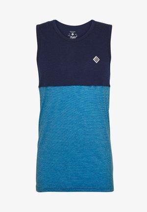 DEEL NUL TANK MEN - Sports shirt - mykonos blue
