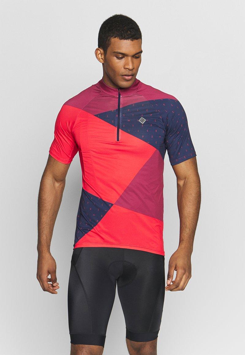 Triple2 - MEN - T-shirts print - beet red