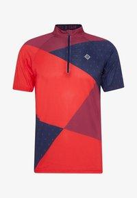 Triple2 - MEN - T-shirts print - beet red - 3