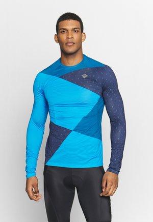 Long sleeved top - mykonos blue