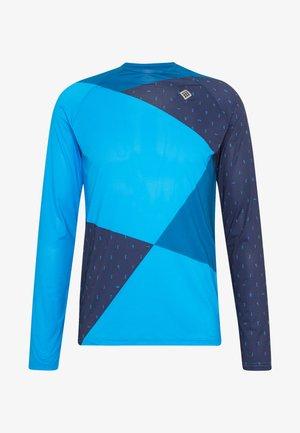 Langarmshirt - mykonos blue