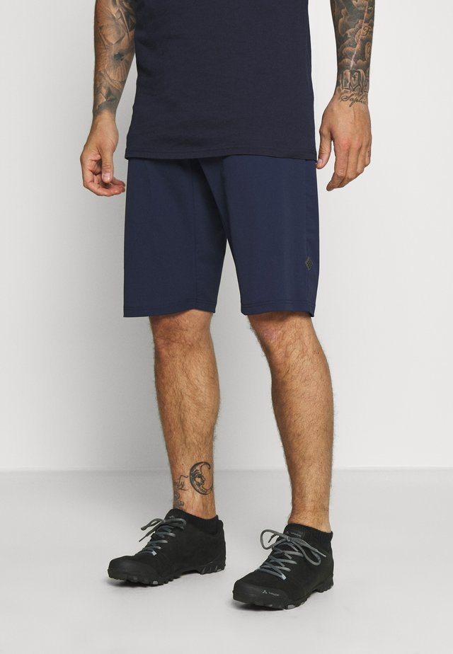 HOOT CYCLE RUNNING SHORT MEN - Urheilushortsit - peacoat