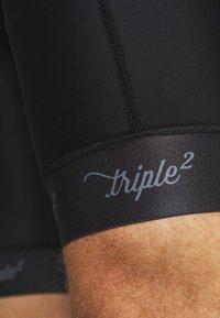 Triple2 - SITT NUL - OCEAN WASTE ECONYL® TIGHT  - Tights - anthracite - 5