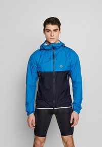 Triple2 - SMUDD SUPERLIGHT RAINJACKET MEN - Veste coupe-vent - mykonos blue - 0