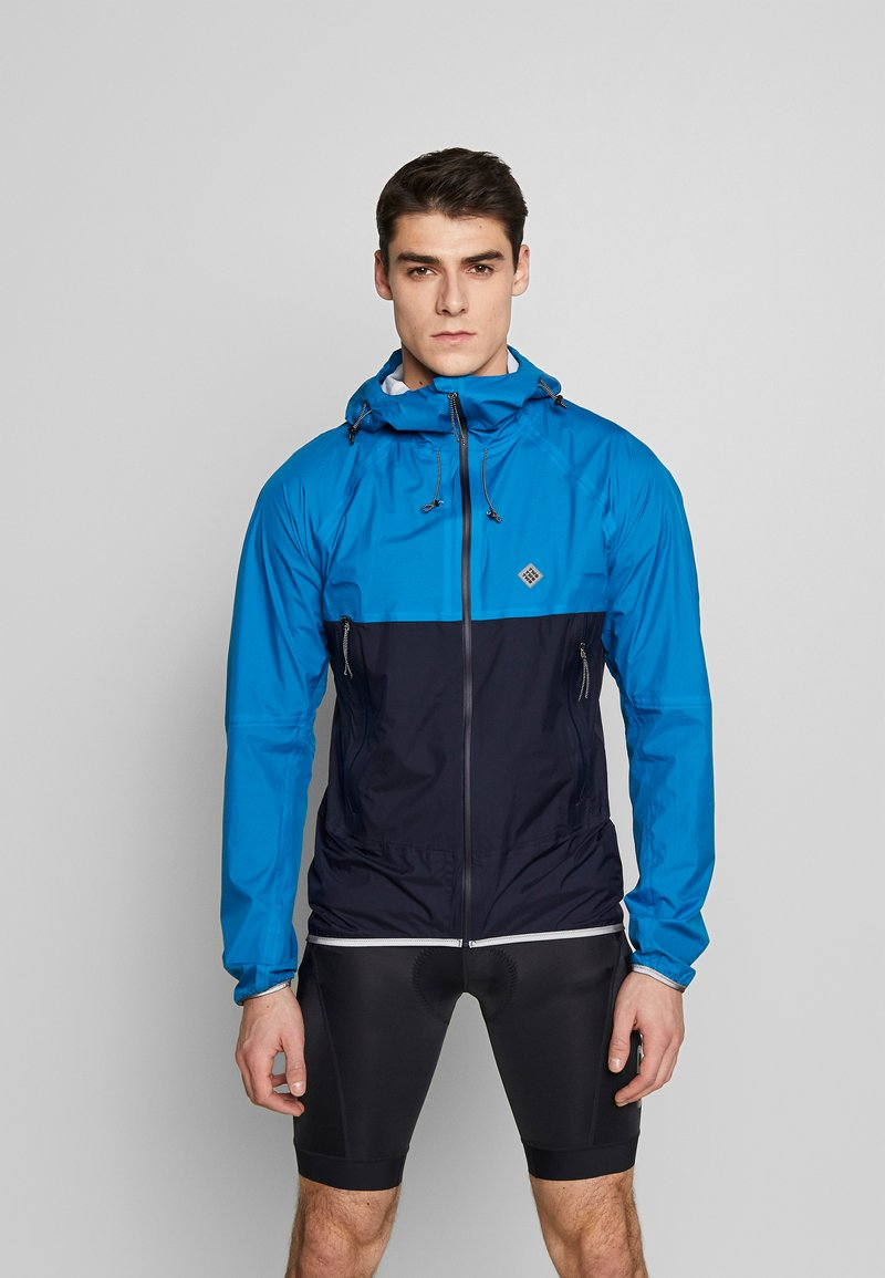 Triple2 - SMUDD SUPERLIGHT RAINJACKET MEN - Veste coupe-vent - mykonos blue