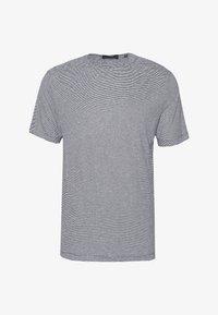 Theory - TIDAL TEE  - Print T-shirt - black/natural - 4