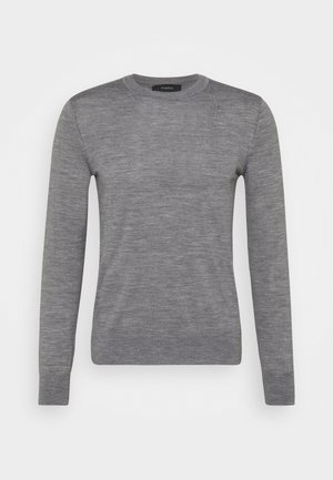 CREW NECK - Strickpullover - grey