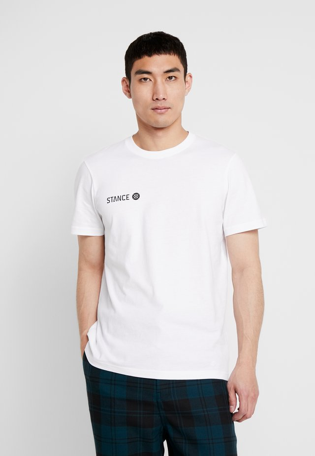 EON - T-shirt con stampa - white