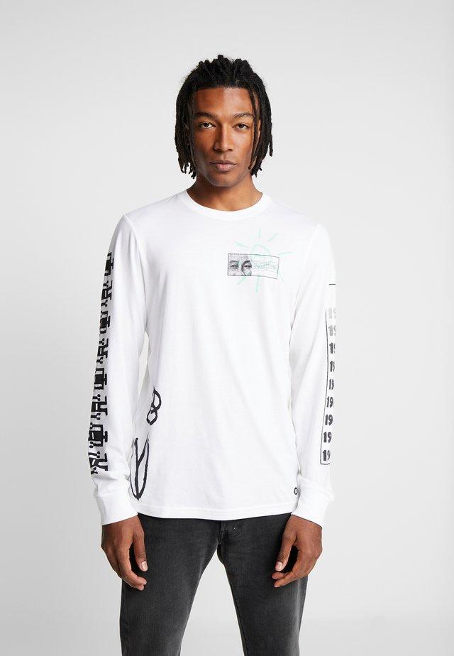 DECADE - Maglietta a manica lunga - white