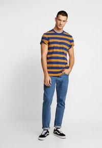 Stance - BINDER - Print T-shirt - navy - 1