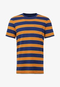 Stance - BINDER - Print T-shirt - navy - 4