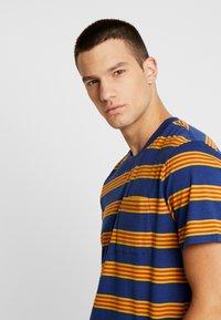 Stance - BINDER - Print T-shirt - navy - 3