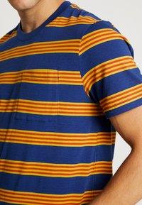 Stance - BINDER - Print T-shirt - navy - 5