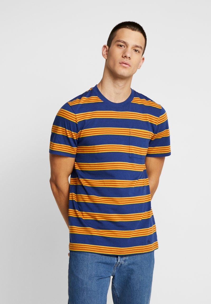 Stance - BINDER - Print T-shirt - navy
