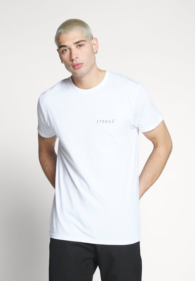 FIVE POINTS - T-shirt print - white