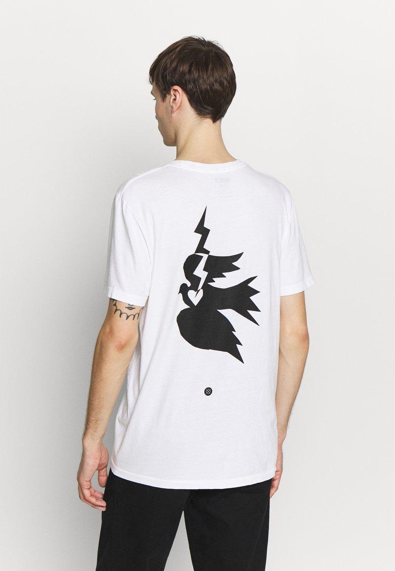 Stance - CHAMBER - Print T-shirt - white