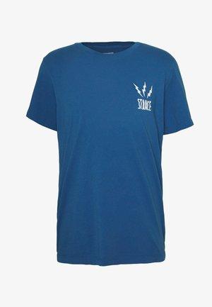 CHAMBER - Print T-shirt - blue