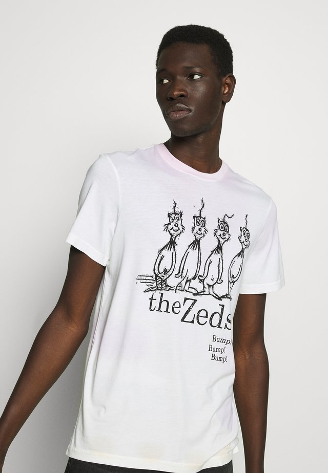 THE ZEDS  - T-shirt z nadrukiem - multi