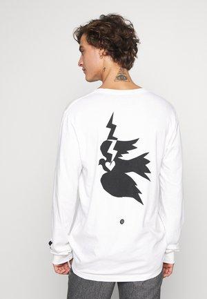 CHAMBER - Long sleeved top - white