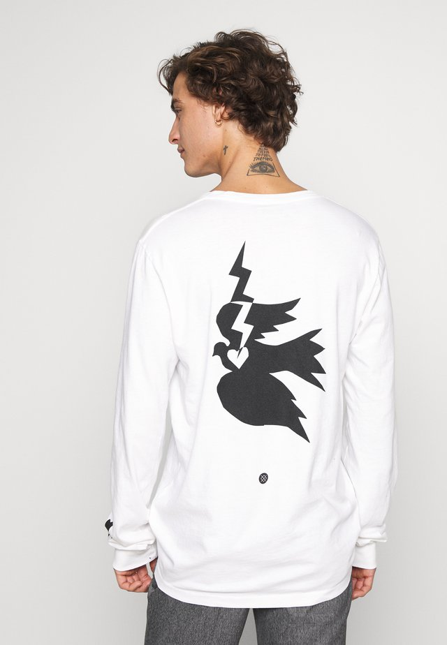 CHAMBER - Long sleeved top - white