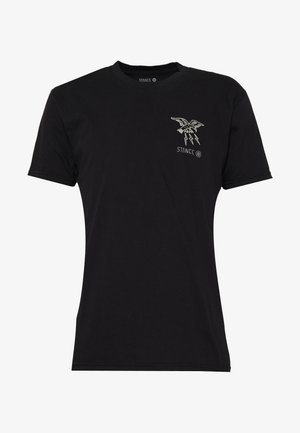 CLAW - Print T-shirt - black