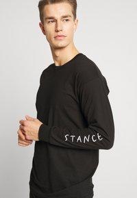 Stance - FIVE POINTS - Top sdlouhým rukávem - black - 2
