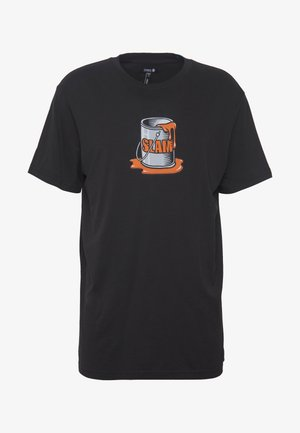 SLAM SPILL TEE - T-shirt imprimé - black