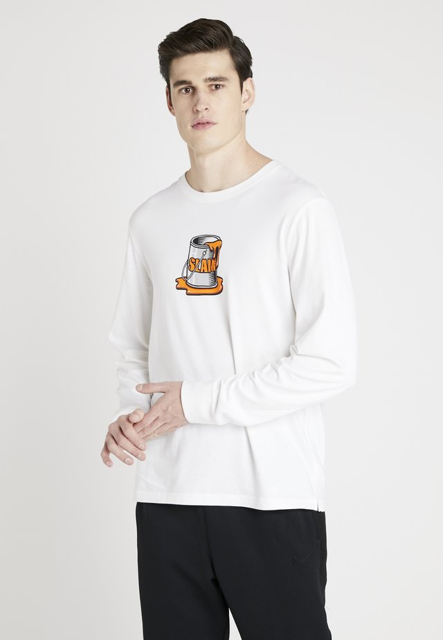 SLAM SPILL LONG SLEEVE - Longsleeve - white