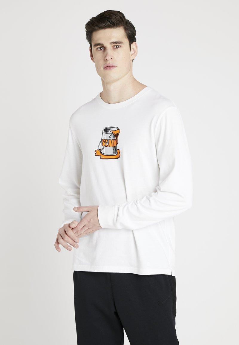 Stance - SLAM SPILL LONG SLEEVE - Långärmad tröja - white