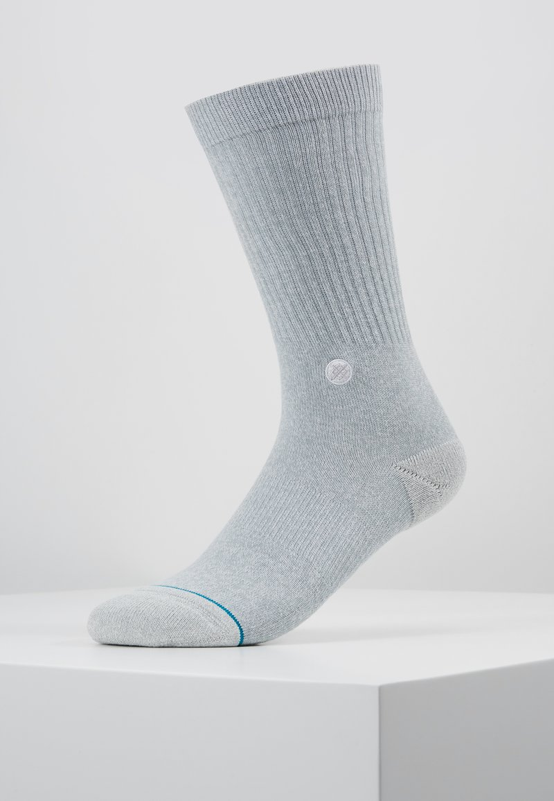 Stance - NBA LOGOMAN CREW II - Skarpety sportowe - heather grey