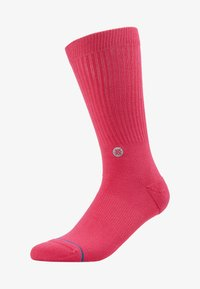 Stance - NBA LOGOMAN CREW II - Skarpety sportowe - saturated pink - 1