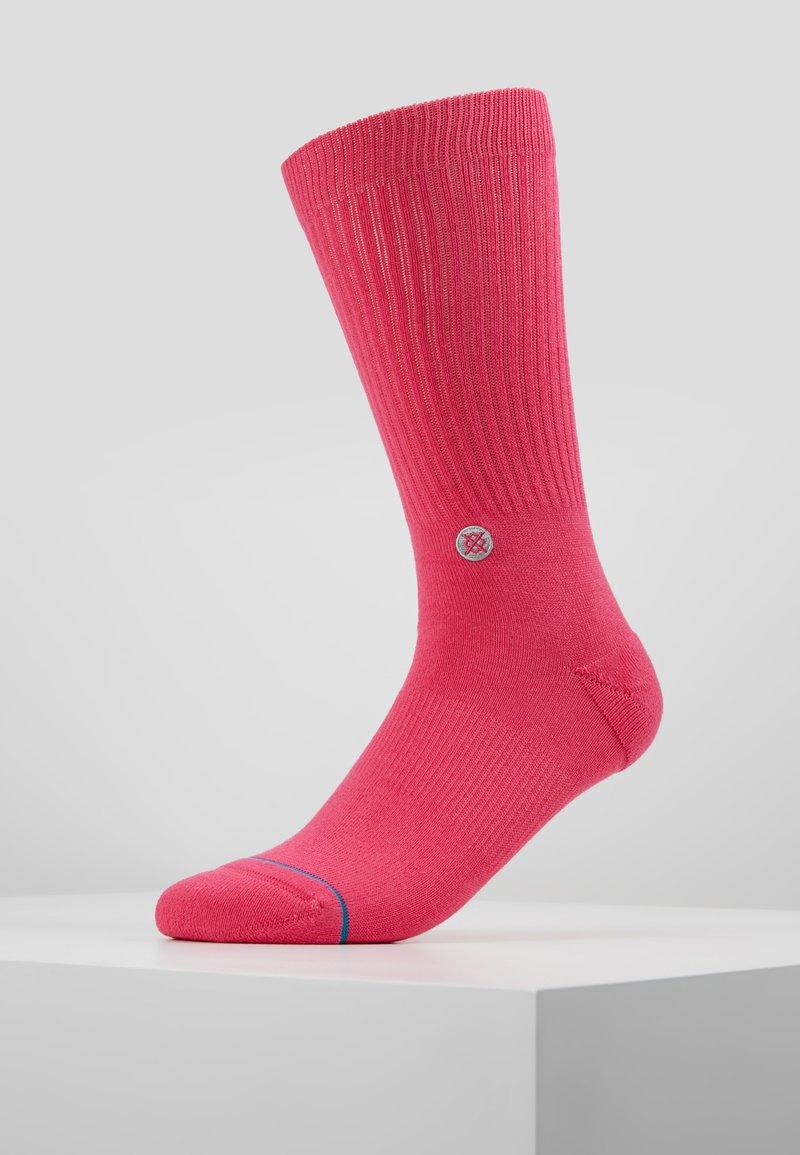 Stance - NBA LOGOMAN CREW II - Skarpety sportowe - saturated pink