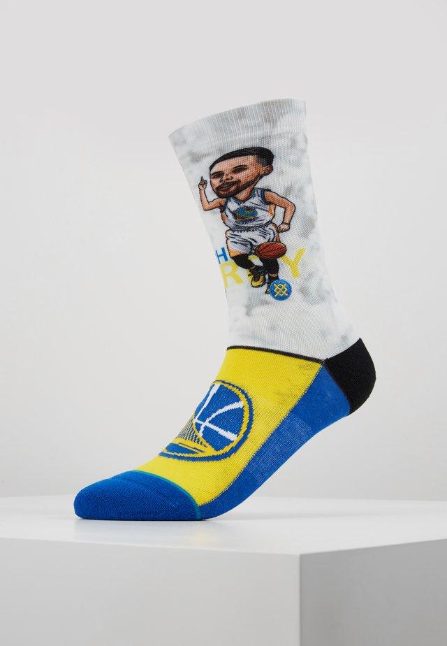 CURRY BIG HEAD - Sports socks - blue