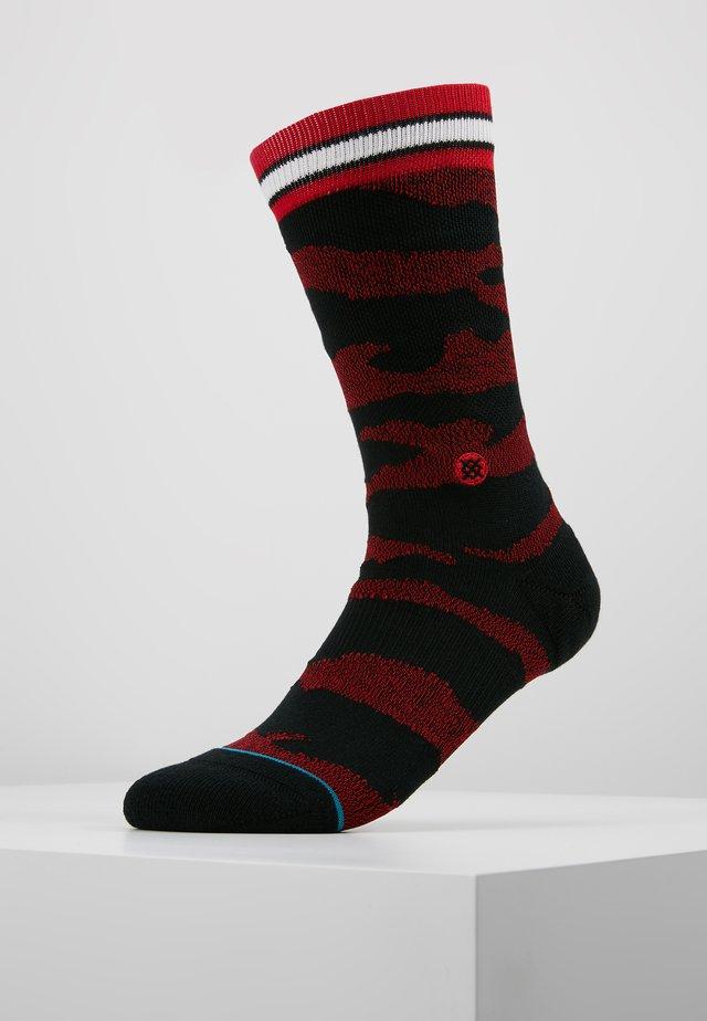 BULLS CAMO MELANGE - Sports socks - black