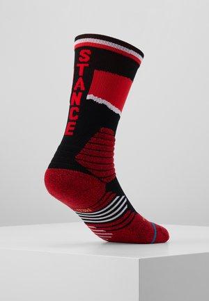 SCRAPPS - Sportovní ponožky - red