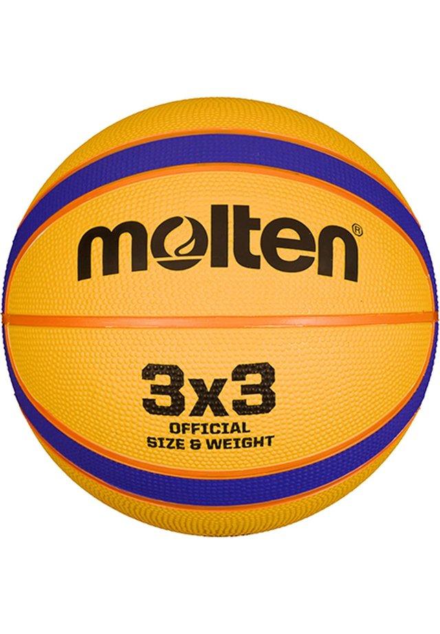 B33T5000 FIBA 3X3 REPLIKA BASKETBALL - Basketball - gelb / blau / orange