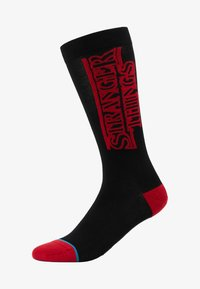 Stance - STRANGER THINGS - Calcetines - black/red - 1