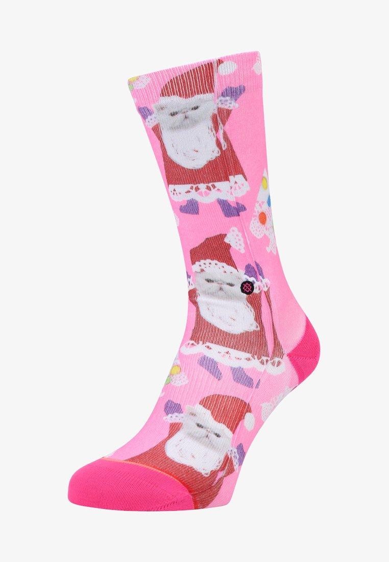 Stance - SANTIPAWS CREW - Socks - pink