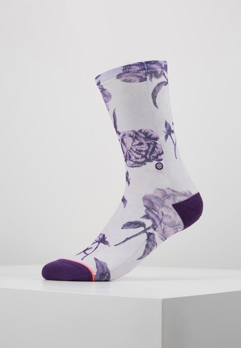 Stance - REBEL ROSE CREW - Socken - purple
