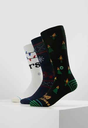 TIS THE SEASON 3 PACK - Ponožky - multi