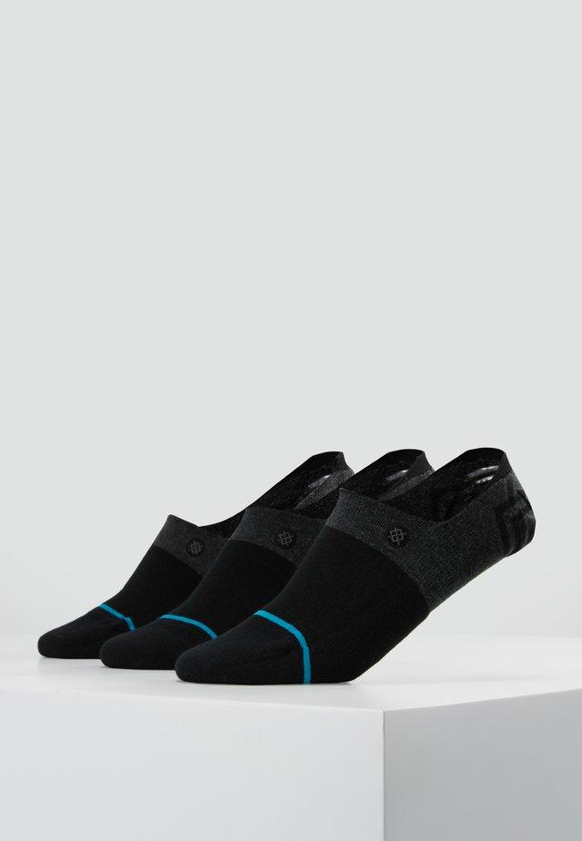 GAMUT 3 PACK - Trainer socks - black