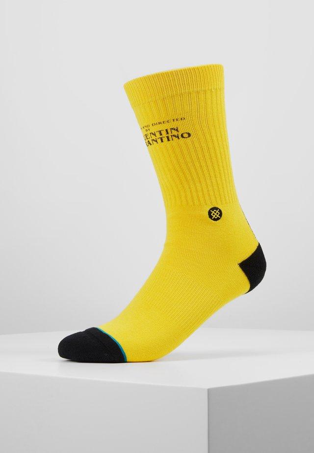 KILL BILL - Socks - yellow