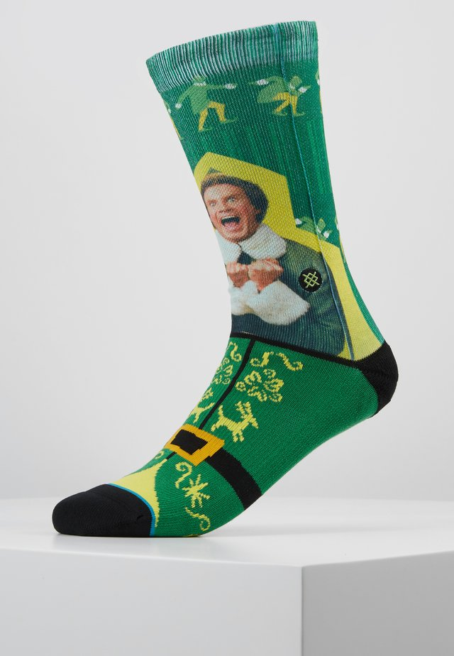 I KNOW HIM ELF - Socks - green