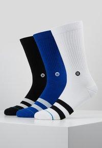 Stance - 3 PACK - Ponožky - black/white/blue - 0