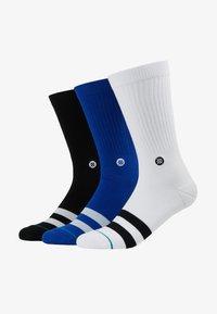 Stance - 3 PACK - Ponožky - black/white/blue - 1